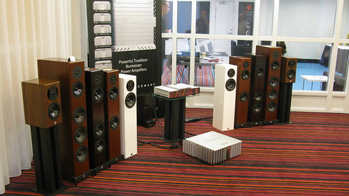 Speaker: Vienna Acoustics Beethoven Concert Grand. Amp + CD: Burmester.