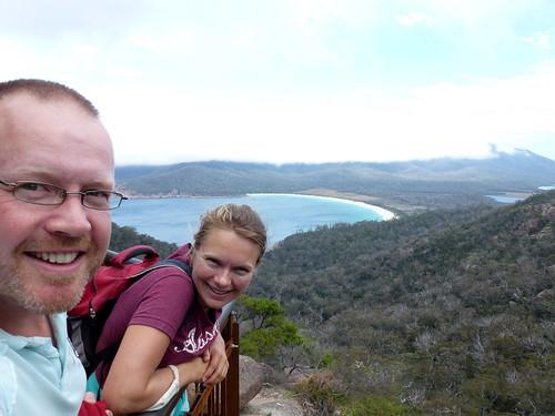 Freycinet NP - Wineglass Bay Lookout - 4