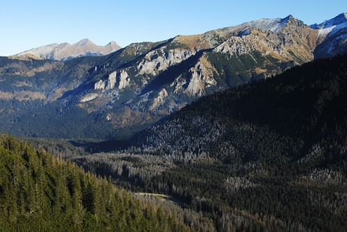 Tatra Mountains - View from Świstówka to Fish Stream Valley