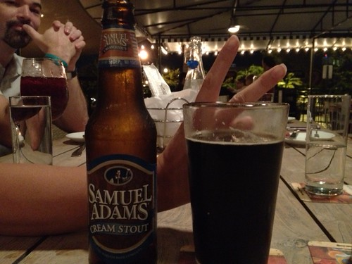 Sam Adams Cream Stout @Morgans