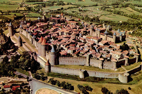 Carcassonne from Air (Postcard)