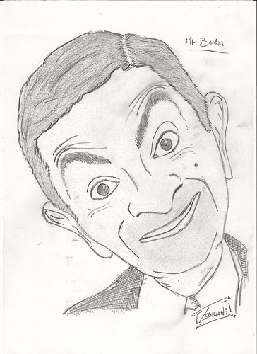 Mr. Bean by Giuseppe Lombardi