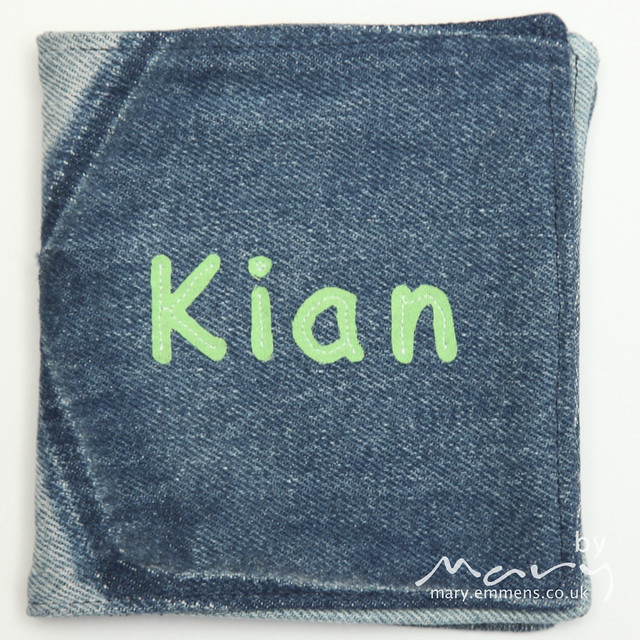 Soft book for Kian