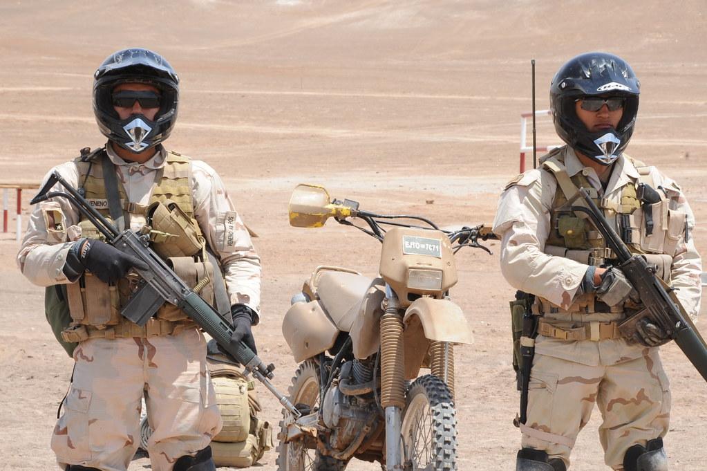 Armée Chilienne / Chile's armed forces / Fuerzas Armadas de Chile - Page 8 6351268802_f9017d11fd_b