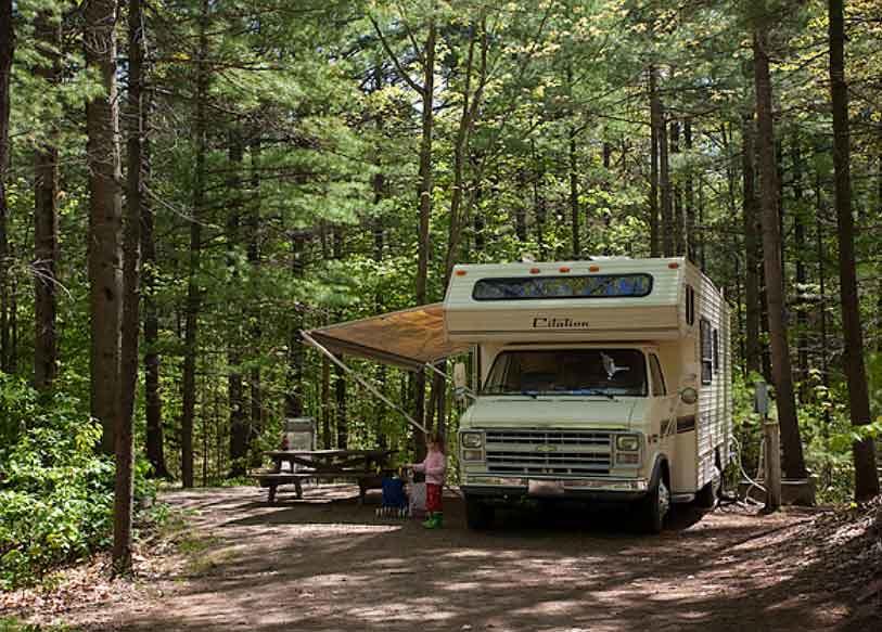 Camping du Parc d'Oka (Québec, Canada)