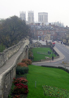 Image of City Walls. york uk greatbritain england unitedkingdom yorkshire gb yorkminster snc16813