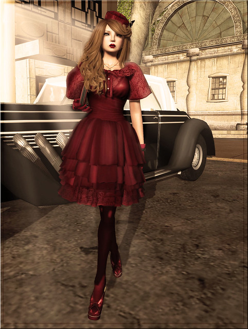 Baiastice_Florance dress-red