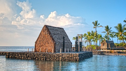 King Kamehameha's Royal Grounds in Kailua-Kona