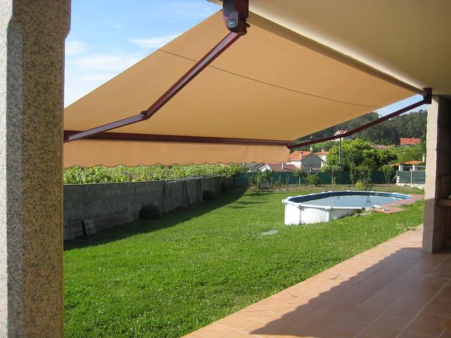 Toldo para terraza toldos de brazo articulado para - Toldos impermeables para terrazas ...