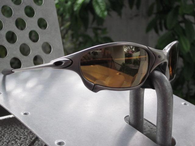 532b95cf8f ... Oakley Juliet Titanium Frame-Gold Iridium Lens