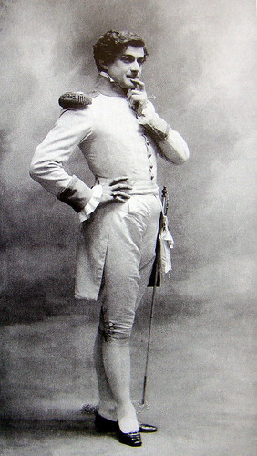 Edouard de Max. Comédien.