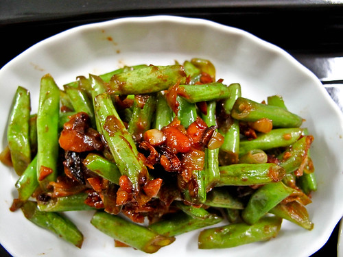 IMG_0627 Fried french bean with bean paste