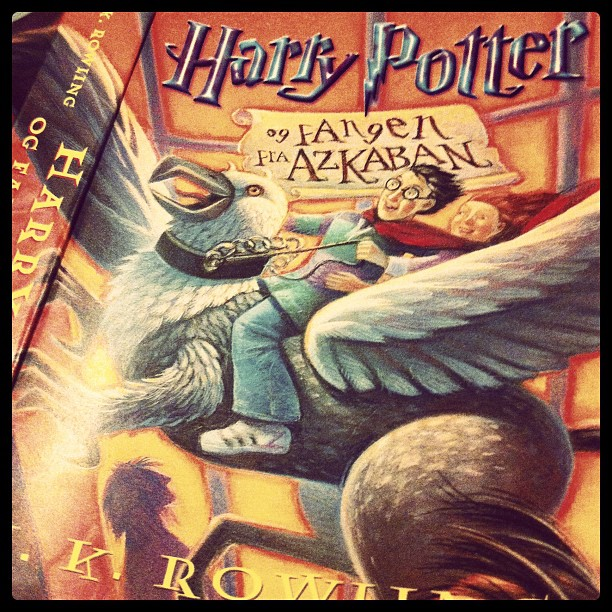 What we are reading right now Harry Potter #3