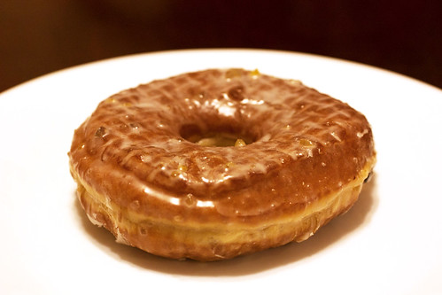 roasted chestnut doughnut @ doughnut plant