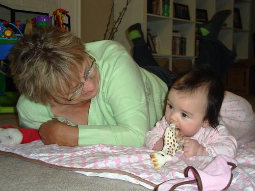 Grandma and Isadora