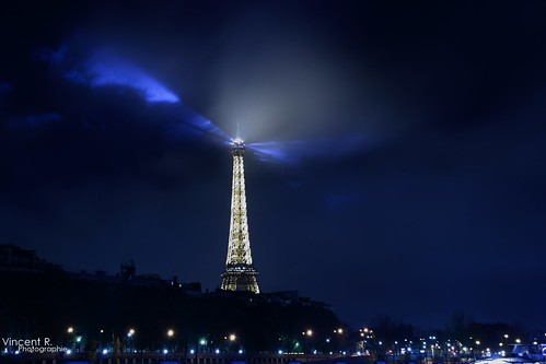 Effeil Tower by night