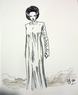 Bride of Frankenstein sketch