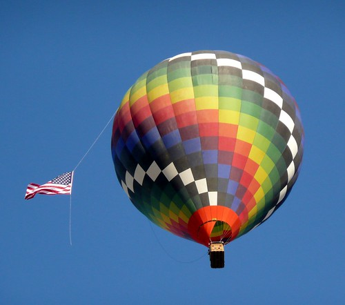 Hot Air Balloon Over Yuma by RV Bob