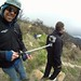 Paragliding with XShot and duct tape