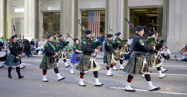 St Patricks Day parade 2012