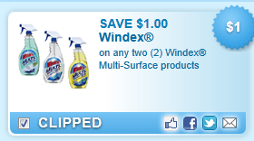 Windex Multi-surface Products Coupon