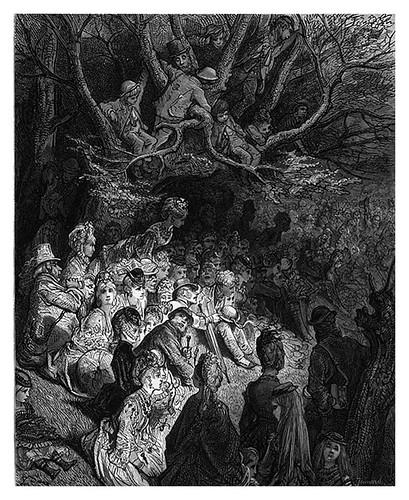010-A la orilla del rio bajo los arboles-London A Pilgrimage 1890- Blanchard Jerrold y Gustave Doré- © Tufts Digital Library