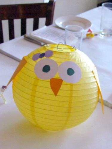 baby shower duck lantern