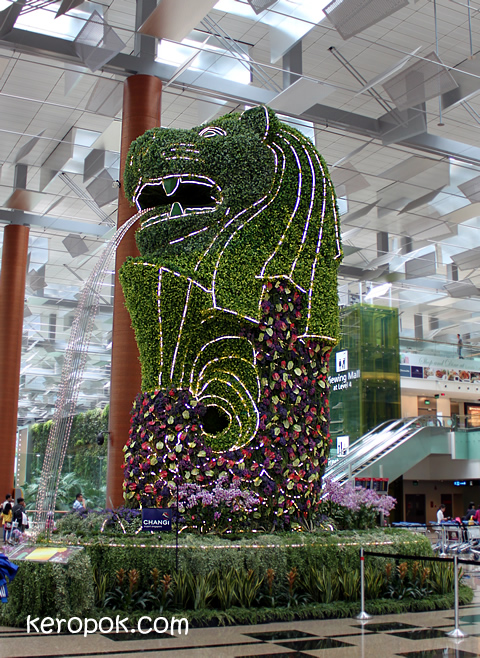 Probably Singapore's Greenest Merlion