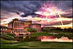 Westin Scottsdale Arizona Fireworks