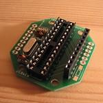 PCB #2 - half built