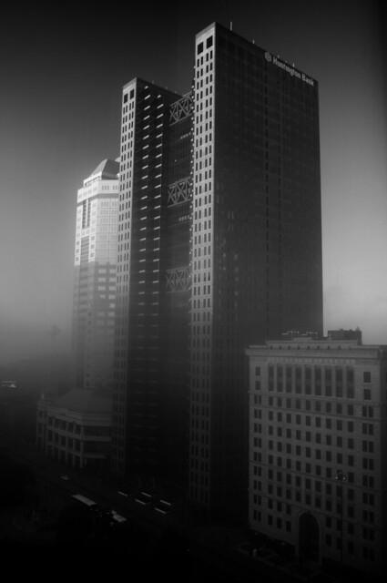 Huntington Tower b+w