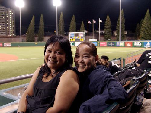 <p>Under the lights at at UH AUW Softall Tournament 2011 at Les Murakami Stadium.</p>