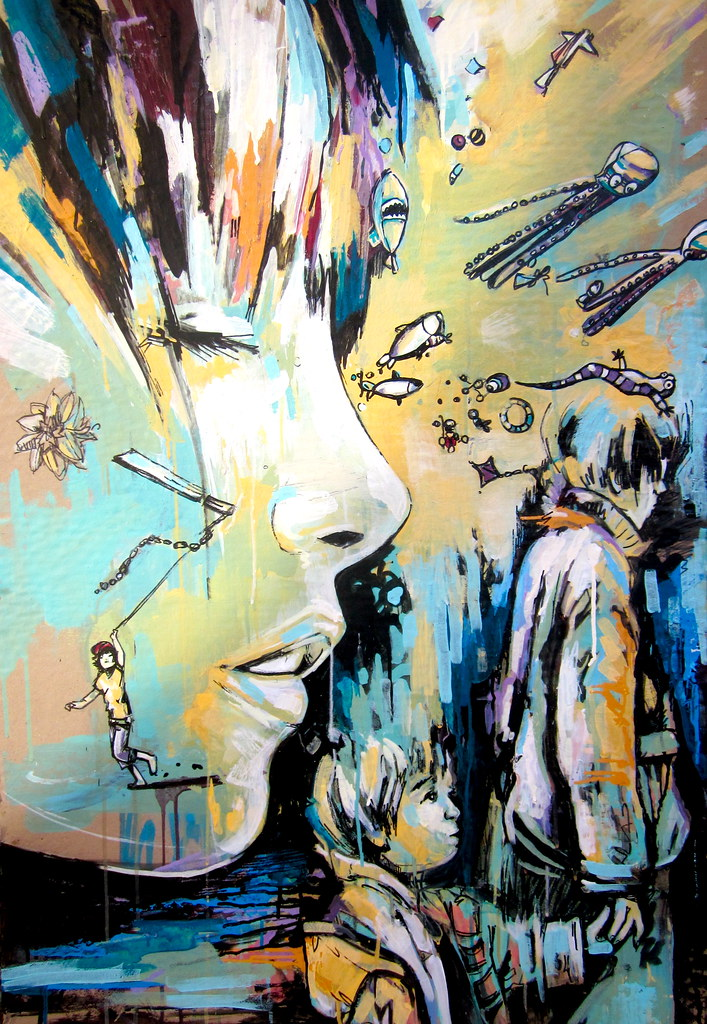 Alice Pasquini - 'Morning wishes'