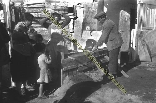 Barracas en el Somorrostro,  foto Agustí Centelles, (c) Ministerio de Cultura, CDMH, todos los derechos reservados by Octavi Centelles