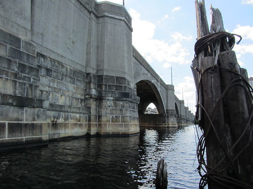 Entering the Craigie Drawbridge on the Charles River