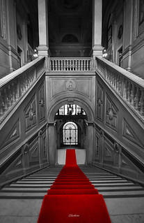 Red carpet down