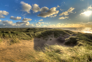 sand dune on north sea coast, Denmark | by magnetismus