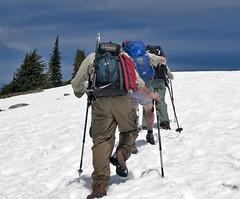 ski(0.0), skiing(0.0), mountain range(0.0), ski touring(0.0), downhill(0.0), nordic skiing(0.0), snowshoe(1.0), adventure(1.0), ski equipment(1.0), winter sport(1.0), footwear(1.0), mountain(1.0), winter(1.0), piste(1.0), sports(1.0), snow(1.0), mountaineering(1.0), mountain guide(1.0),