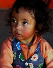 Tibetan girl in Sethar
