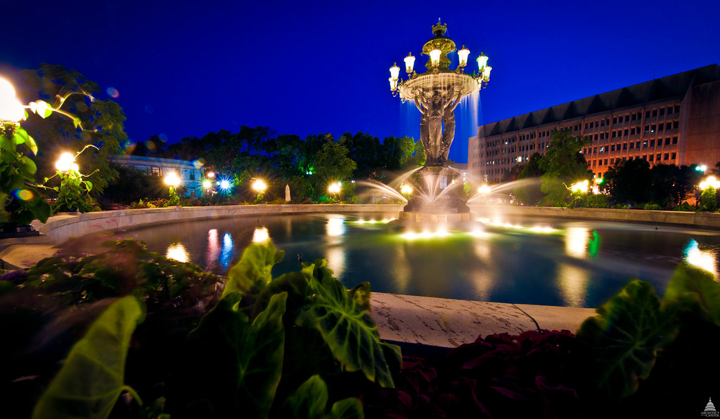 Bartholdi Park And Fountain Architect Of The Capitol United - Us botanic garden map