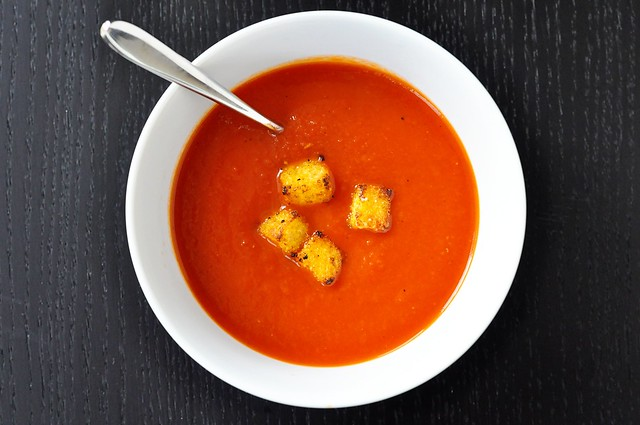 Soup & croutons