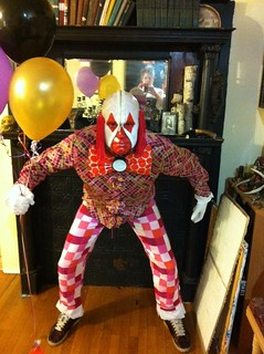 Scary Clown Costume 2011