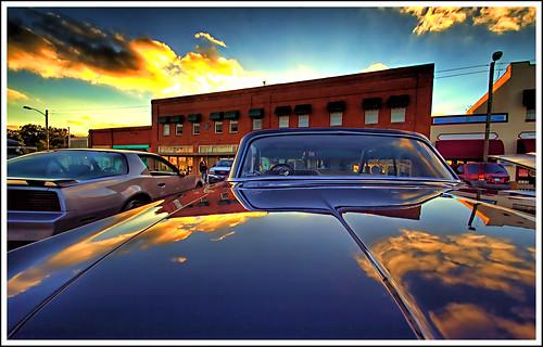 sunset reflection florida hdr palmetto topaz slicksgarage