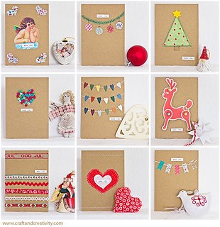 Christmas cards, 9 variations
