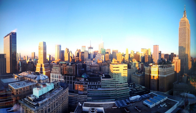 Manhattan in the afternoon
