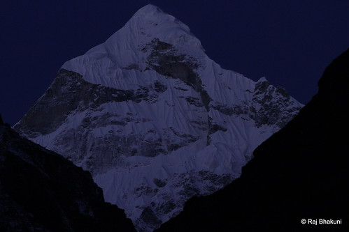 Pre-dawn Neelkanth (6,597 meters), Uttarakhand, India (Explored :):))