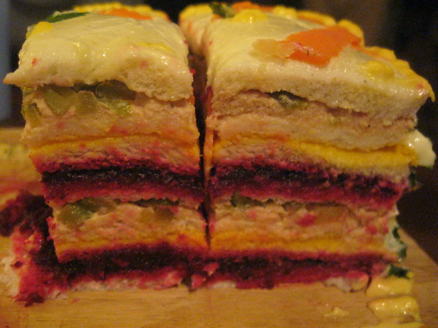 Torta fria colorida | Flickr - Photo Sharing!
