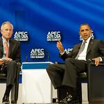 APEC Leader Interaction – President Barack Obama