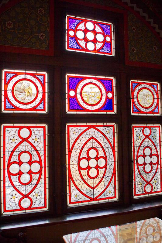 These windows are striking.  Витражи!!!!!!! CD7I7407