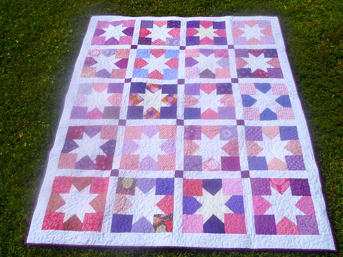 P1010665Quilting for Kids Charming Stars Quilt